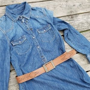 Old Navy Jean Dress, Country belt included
